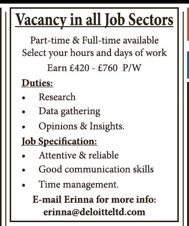Fake Job Advert